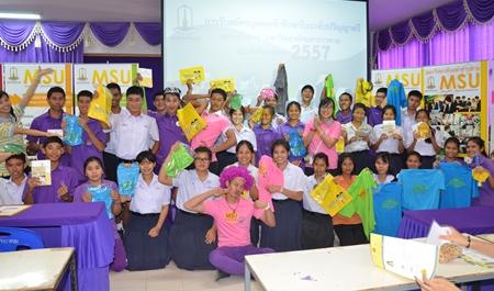 มมส แนะแนวการศึกษาระดับปริญญาตรี ระบบรับตรง ปี 2557 ณ โรงเรียนสุโขทัย