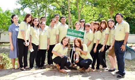 เข้าร่วมโครงการวันต้นไม้ประจำปีของชาติ ปี 2557