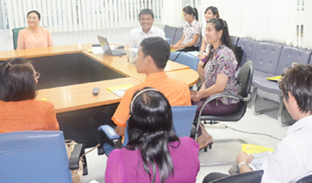 กองบริการการศึกษา ต้อนรับคณะศึกษาดูงานจากคณะศึกษาศาสตร์ มมส