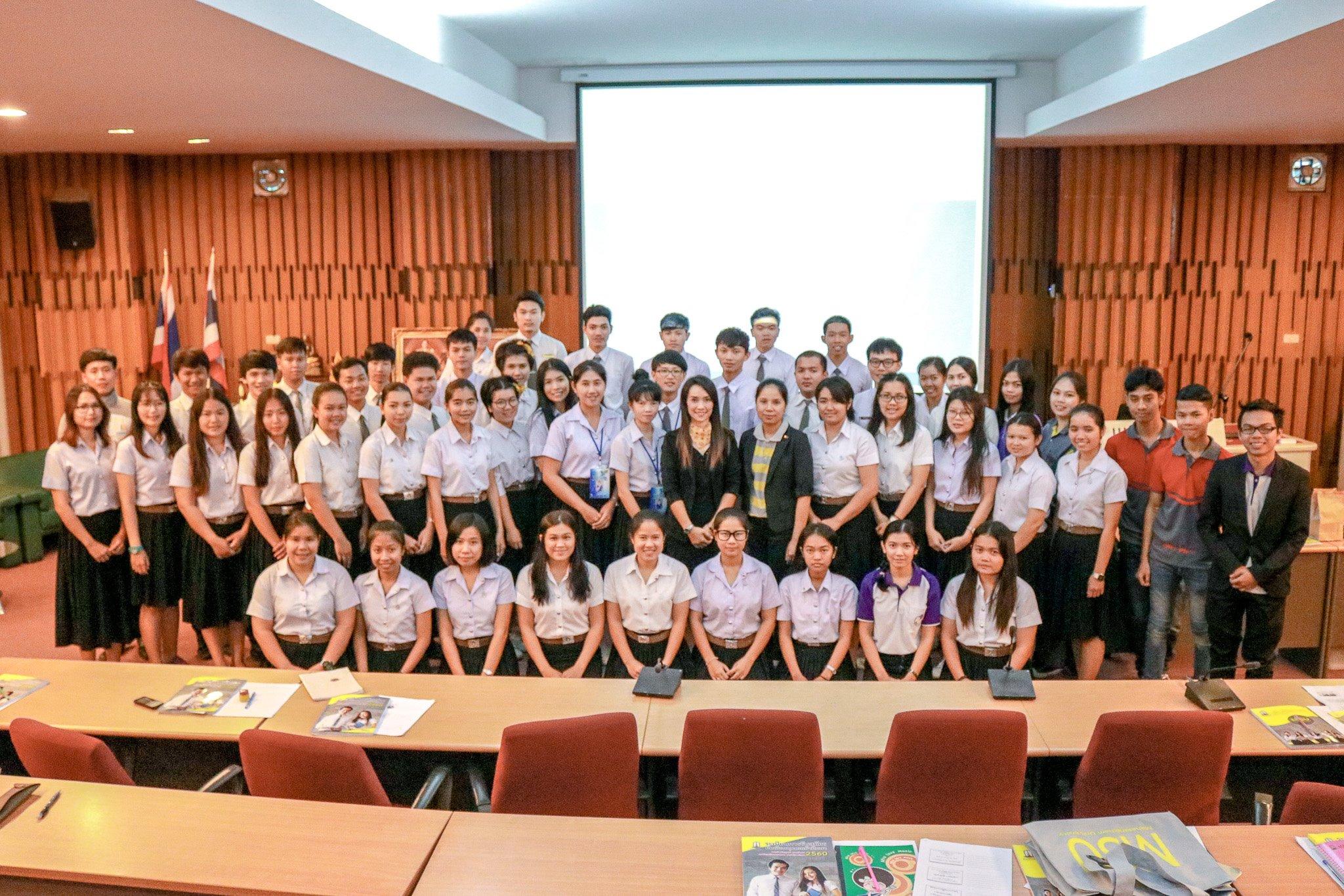 อบรมการพูดเพื่อการแนะแนวการศึกษา ปีการศึกษา 2560