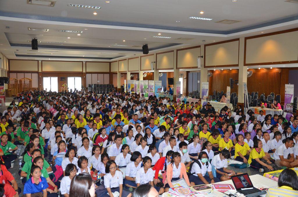 มมส จัดแนะแนวการศึกษาในระดับปริญญาตรี ระบบรับตรง ประจำปีการศึกษา 2560 ณ จังหวัดอุบลราชธานี