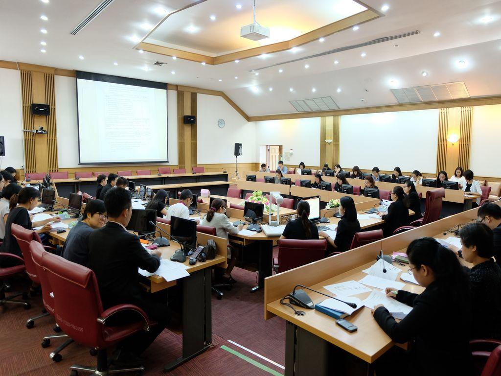 จัดประชุมแนวทางการคัดเลือกบุคคลเข้าศึกษา ในระดับปริญญาตรี ประจำปีการศึกษา 2561