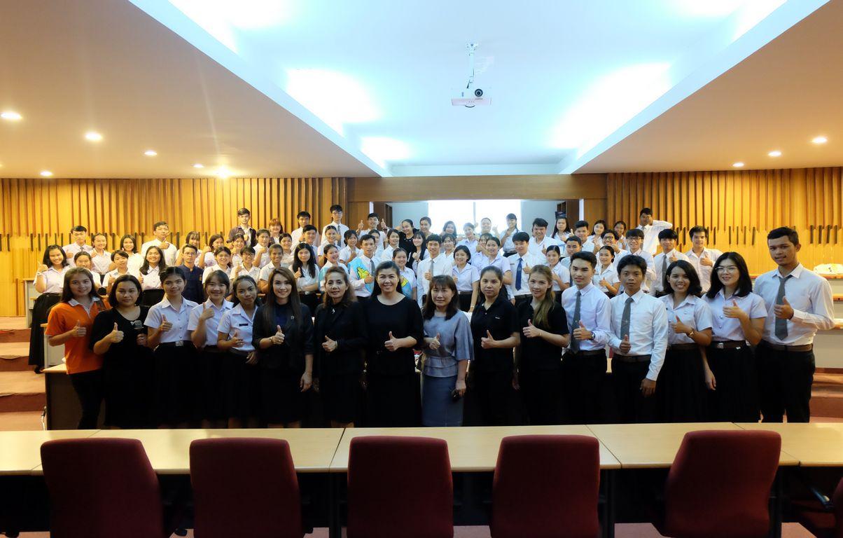 อบรมการพูดเพื่อการแนะแนวการศึกษา ปีการศึกษา 2561
