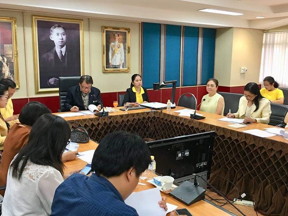 กองบริการการศึกษา จัดประชุมพิจารณาจำนวนผู้มีสิทธิ์สอบสัมภาษณ์ประจำปีการศึกษา 2562
