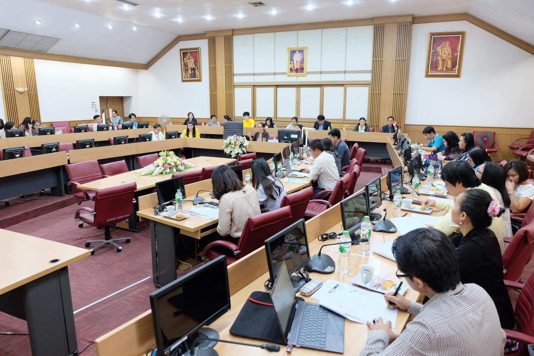 จัดประชุมเรื่องการรับบุคคลเข้าศึกษาในระดับปริญญาตรี มหาวิทยาลัยมหาสารคาม ประจำปีการศึกษา 2563
